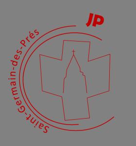 Jeunes Pro _ eglise saint germain des pres _ jp _ paris _ paroisse _ logo