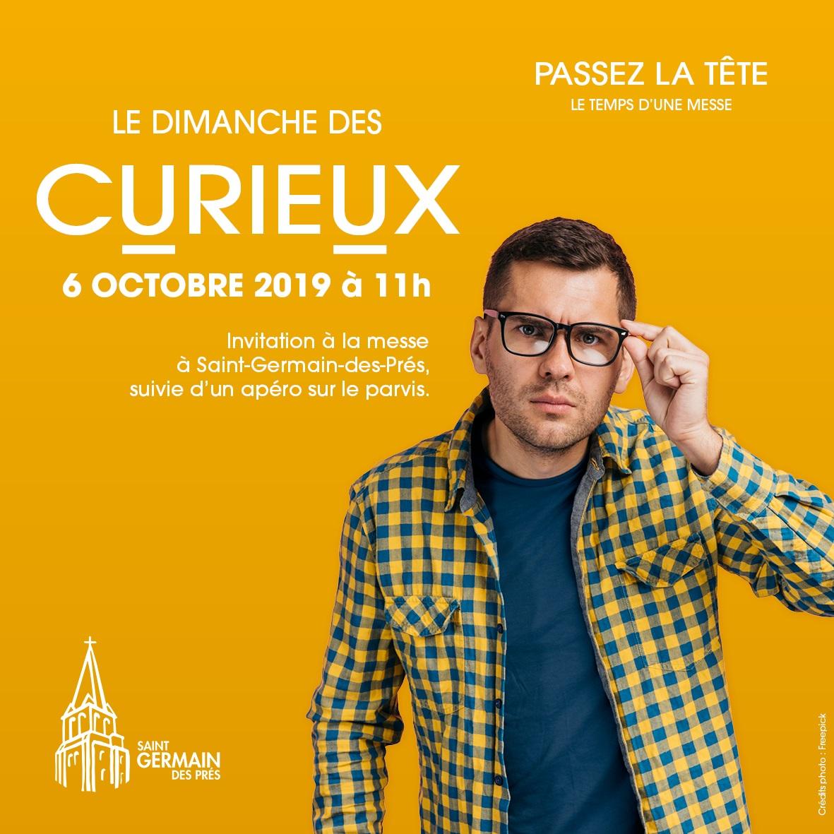 LA MESSE DES CURIEUX