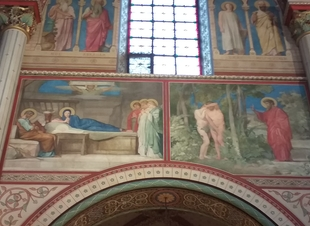 Commentaires des fresques d'Hippolyte Flandrin